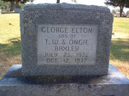 BAXLEY, GEORGE ELTON - Craighead County, Arkansas   GEORGE ELTON BAXLEY - Arkansas Gravestone Photos