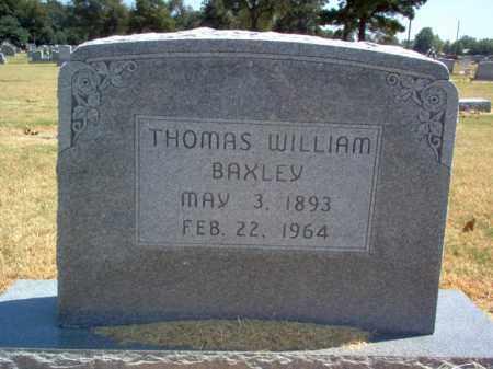 BAXLEY, THOMAS WILLIAM - Craighead County, Arkansas | THOMAS WILLIAM BAXLEY - Arkansas Gravestone Photos