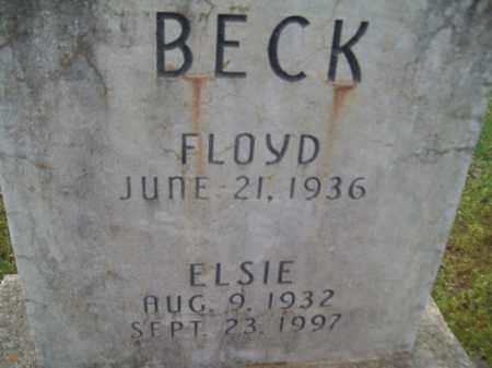 BECK, ELSIE - Craighead County, Arkansas   ELSIE BECK - Arkansas Gravestone Photos