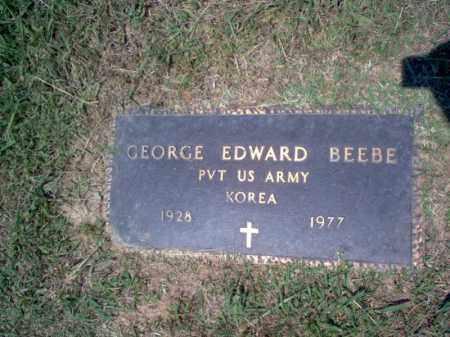 BEEBE (VETERAN KOR), GEORGE EDWARD - Craighead County, Arkansas | GEORGE EDWARD BEEBE (VETERAN KOR) - Arkansas Gravestone Photos