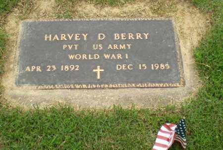 BERRY  (VETERAN WWI), HARVEY D - Craighead County, Arkansas | HARVEY D BERRY  (VETERAN WWI) - Arkansas Gravestone Photos