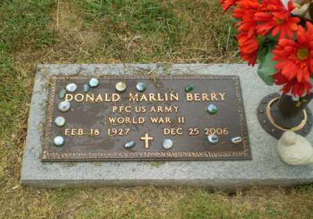 BERRY  (VETERAN WWII), DONALD MARLIN - Craighead County, Arkansas | DONALD MARLIN BERRY  (VETERAN WWII) - Arkansas Gravestone Photos