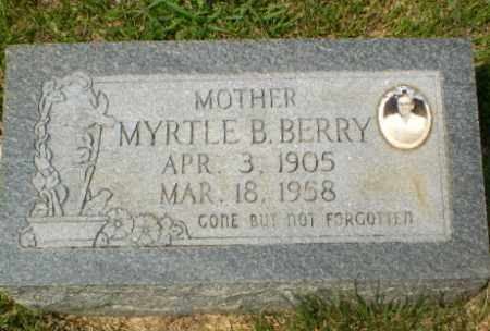 BERRY, MYRTLE B - Craighead County, Arkansas | MYRTLE B BERRY - Arkansas Gravestone Photos