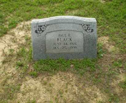 BLACK, PAUL E - Craighead County, Arkansas | PAUL E BLACK - Arkansas Gravestone Photos