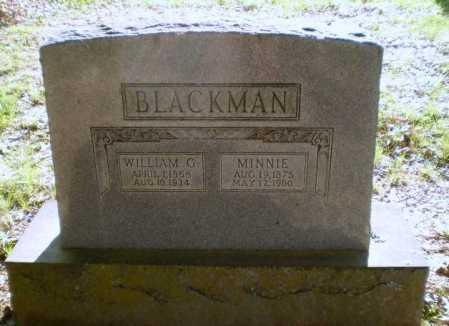 BLACKMAN, WILLIAM G - Craighead County, Arkansas | WILLIAM G BLACKMAN - Arkansas Gravestone Photos