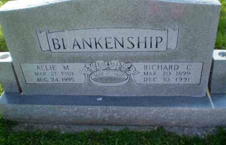 BLANKENSHIP, ALLIE M - Craighead County, Arkansas | ALLIE M BLANKENSHIP - Arkansas Gravestone Photos