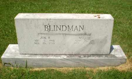 BLINDMAN, MILLIE - Craighead County, Arkansas   MILLIE BLINDMAN - Arkansas Gravestone Photos