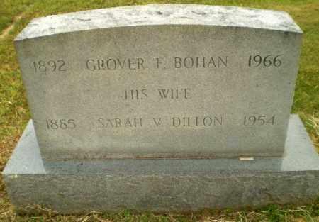 BOHAN, GROVER F - Craighead County, Arkansas | GROVER F BOHAN - Arkansas Gravestone Photos
