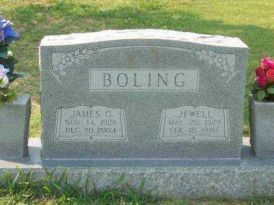 BOLING, JEWELL - Craighead County, Arkansas | JEWELL BOLING - Arkansas Gravestone Photos
