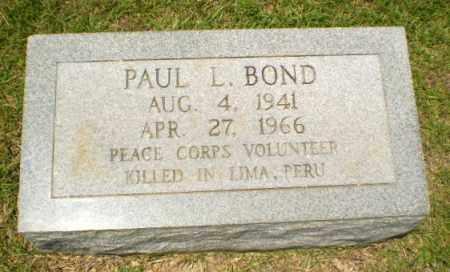 BOND, PAUL L - Craighead County, Arkansas | PAUL L BOND - Arkansas Gravestone Photos