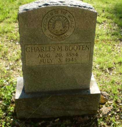 BOOTEN, CHARLES M - Craighead County, Arkansas | CHARLES M BOOTEN - Arkansas Gravestone Photos