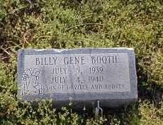 BOOTH, BILLY GENE - Craighead County, Arkansas | BILLY GENE BOOTH - Arkansas Gravestone Photos