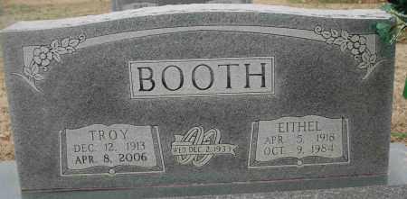 BRICKELL BOOTH, EITHEL - Craighead County, Arkansas   EITHEL BRICKELL BOOTH - Arkansas Gravestone Photos