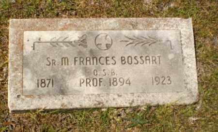 BOSSART, SISTER M. FRANCES - Craighead County, Arkansas | SISTER M. FRANCES BOSSART - Arkansas Gravestone Photos