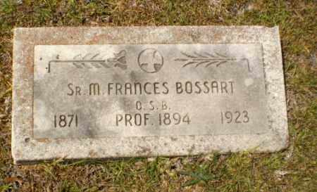 BOSSART, SISTER M. FRANCES - Craighead County, Arkansas   SISTER M. FRANCES BOSSART - Arkansas Gravestone Photos