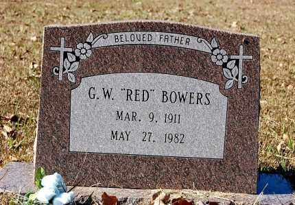 "BOWERS, G. W. ""RED"" - Craighead County, Arkansas 