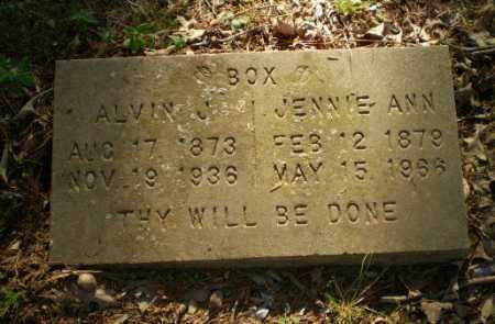 BOX, ALVIN J - Craighead County, Arkansas | ALVIN J BOX - Arkansas Gravestone Photos