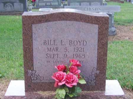 BOYD, BILL L. - Craighead County, Arkansas   BILL L. BOYD - Arkansas Gravestone Photos