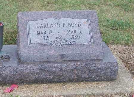 BOYD, GARLAND E. - Craighead County, Arkansas   GARLAND E. BOYD - Arkansas Gravestone Photos