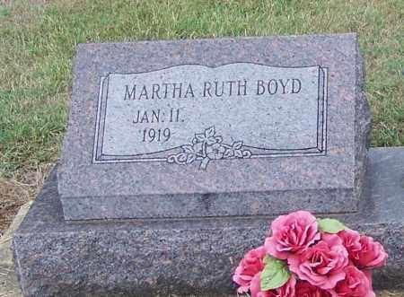BOYD, MARTHA RUTH - Craighead County, Arkansas | MARTHA RUTH BOYD - Arkansas Gravestone Photos