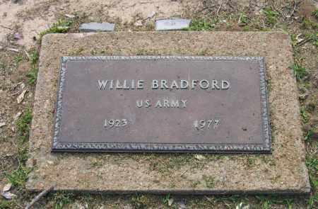 BRADFORD (VETERAN), WILLIE - Craighead County, Arkansas | WILLIE BRADFORD (VETERAN) - Arkansas Gravestone Photos