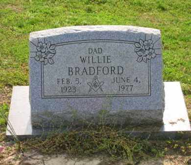 BRADFORD, WILLIE - Craighead County, Arkansas | WILLIE BRADFORD - Arkansas Gravestone Photos