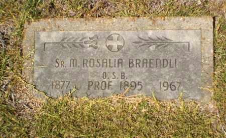 BRAENDLI, SISTER M. ROSALIA - Craighead County, Arkansas | SISTER M. ROSALIA BRAENDLI - Arkansas Gravestone Photos
