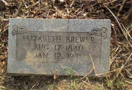 BREWER, ELIZABETH - Craighead County, Arkansas | ELIZABETH BREWER - Arkansas Gravestone Photos