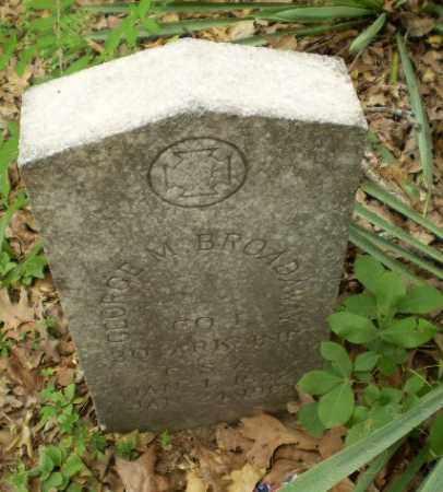 BROADAWAY  (VETERAN CSA), GEORGE M - Craighead County, Arkansas | GEORGE M BROADAWAY  (VETERAN CSA) - Arkansas Gravestone Photos