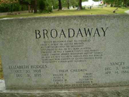 BROADAWAY, ELIZABETH - Craighead County, Arkansas | ELIZABETH BROADAWAY - Arkansas Gravestone Photos