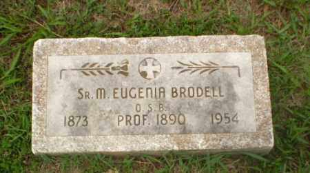BRODELL, SISTER M. EUGENIA - Craighead County, Arkansas | SISTER M. EUGENIA BRODELL - Arkansas Gravestone Photos