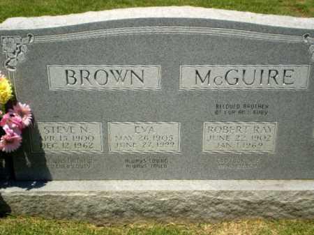 MCGUIRE BROWN, EVA - Craighead County, Arkansas | EVA MCGUIRE BROWN - Arkansas Gravestone Photos