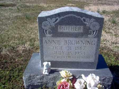 FIELDER BROWNING, ANNIE LAURA - Craighead County, Arkansas   ANNIE LAURA FIELDER BROWNING - Arkansas Gravestone Photos