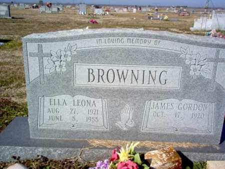 BROWNING, ELLA LEONA - Craighead County, Arkansas   ELLA LEONA BROWNING - Arkansas Gravestone Photos