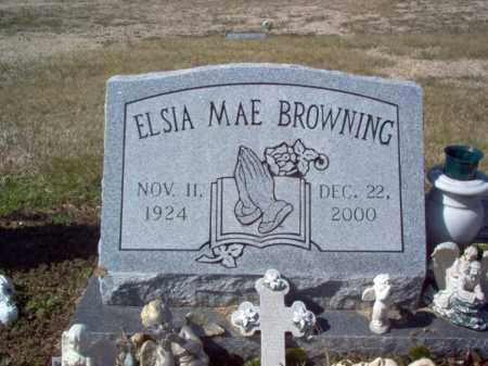 BROWNING, ELSIA MAE - Craighead County, Arkansas   ELSIA MAE BROWNING - Arkansas Gravestone Photos