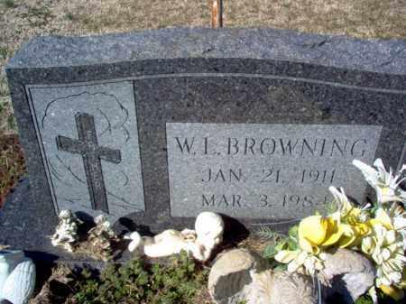 BROWNING, WILLIAM LAUDREN - Craighead County, Arkansas | WILLIAM LAUDREN BROWNING - Arkansas Gravestone Photos