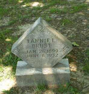 BRUST, FANNIE L. - Craighead County, Arkansas   FANNIE L. BRUST - Arkansas Gravestone Photos