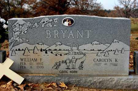 BRYANT, WILLIAM F. - Craighead County, Arkansas | WILLIAM F. BRYANT - Arkansas Gravestone Photos