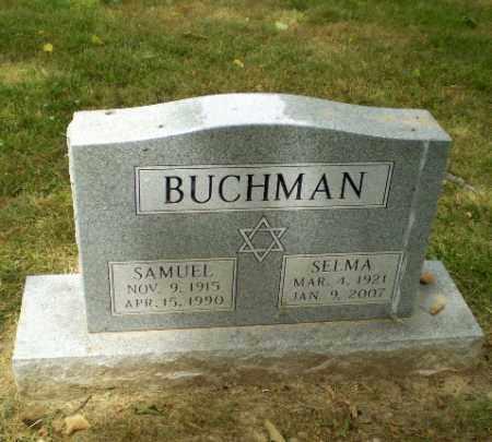 BUCHMAN, SELMA - Craighead County, Arkansas | SELMA BUCHMAN - Arkansas Gravestone Photos