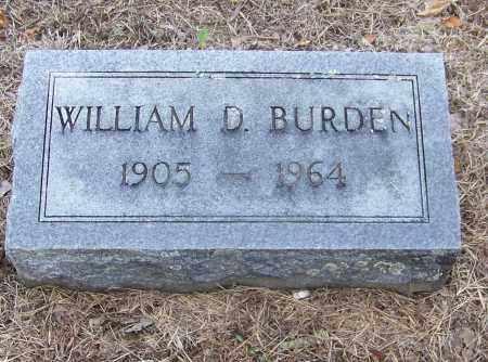 BURDEN, WILLIAM D. - Craighead County, Arkansas | WILLIAM D. BURDEN - Arkansas Gravestone Photos