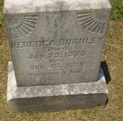 BURNLEY, REBECCA - Craighead County, Arkansas | REBECCA BURNLEY - Arkansas Gravestone Photos