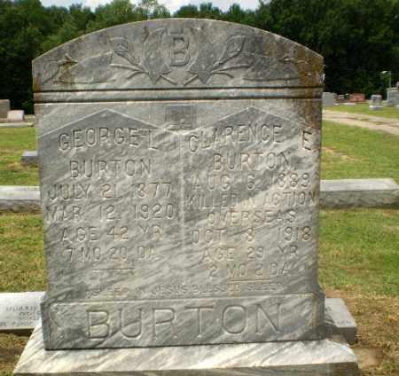 BURTON (VETERAN WWI, KIA), CLARENCE E - Craighead County, Arkansas | CLARENCE E BURTON (VETERAN WWI, KIA) - Arkansas Gravestone Photos