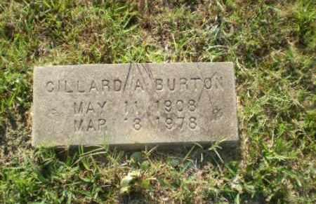 BURTON, GILLARD - Craighead County, Arkansas | GILLARD BURTON - Arkansas Gravestone Photos