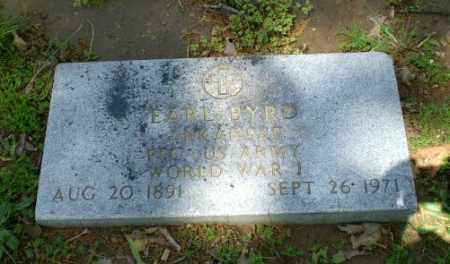 BYRD  (VETERAN WWI), EARL - Craighead County, Arkansas | EARL BYRD  (VETERAN WWI) - Arkansas Gravestone Photos