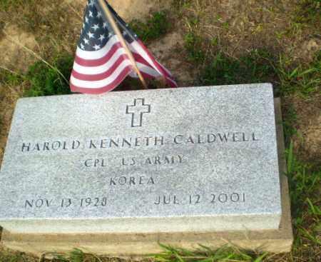 CALDWELL  (VETERAN KOR), HAROLD KENNETH - Craighead County, Arkansas   HAROLD KENNETH CALDWELL  (VETERAN KOR) - Arkansas Gravestone Photos