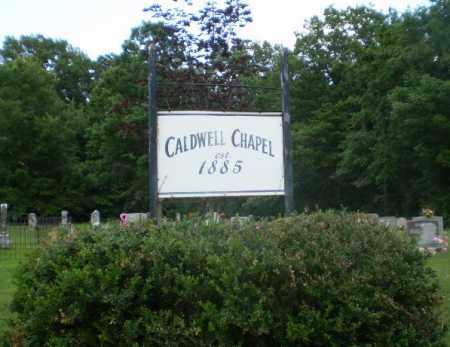 *CALDWELL CHAPEL, SIGN - Craighead County, Arkansas   SIGN *CALDWELL CHAPEL - Arkansas Gravestone Photos