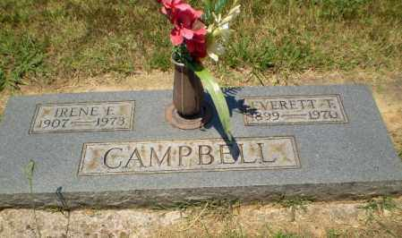 CAMPBELL, EVERETT T - Craighead County, Arkansas | EVERETT T CAMPBELL - Arkansas Gravestone Photos