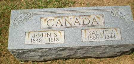 CANADA, SALLIE J. - Craighead County, Arkansas | SALLIE J. CANADA - Arkansas Gravestone Photos