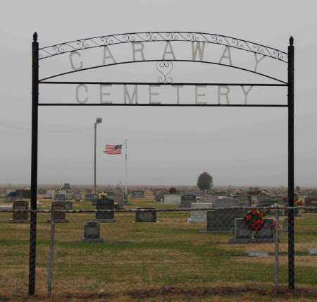 * CARAWAY, CEMETERY GATE - Craighead County, Arkansas | CEMETERY GATE * CARAWAY - Arkansas Gravestone Photos