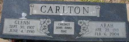 CARLTON, GLENN - Craighead County, Arkansas | GLENN CARLTON - Arkansas Gravestone Photos